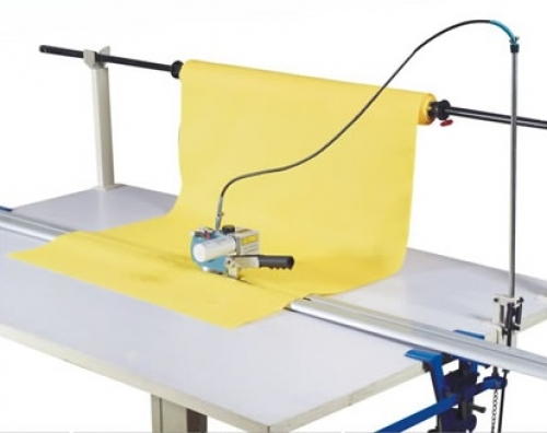 Electric control cloth end cutter